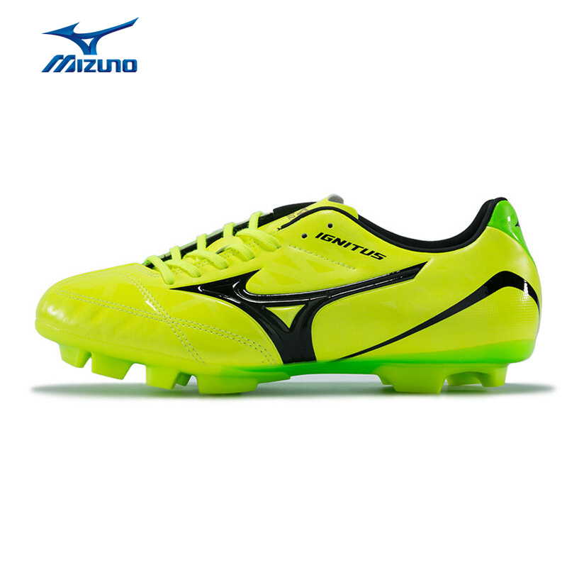 MIZUNO Men's IGNITUS 4 MD Soccer Shoes Support Breathable Footwear Sneakers Sports Shoes P1GA163201 YXZ043 2008 donruss sports legends 114 hope solo women s soccer cards rookie card