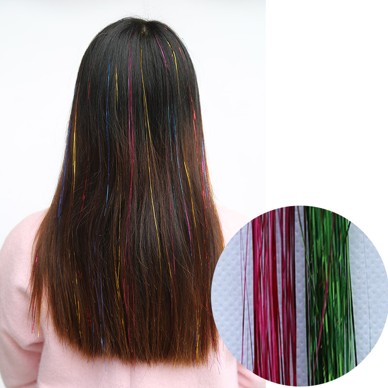 Shangke Long Colored Hair Pieces Natural Flip In Hair Extensions