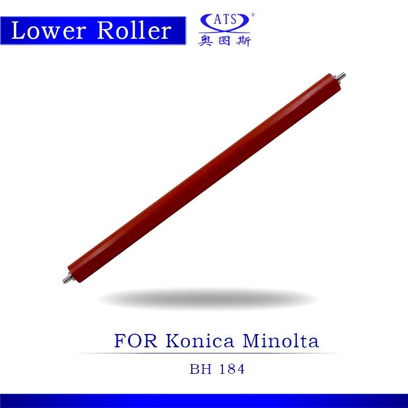 1PCS Photocopy Machine Lower Pressure Fuser Roller For Konica Minolta BH 184 Copier Parts BH184
