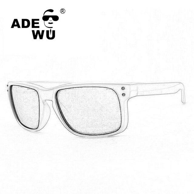 94707959a Adewu Luxo Polarizada Óculos De Sol Dos Homens Com Caixa Original Marca  Designer Revestimento Óculos de