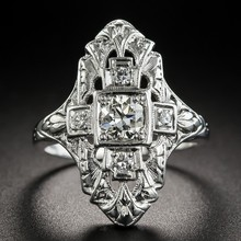 Huitan New Baroque Ring Luxury Crystal CZ Women Square Huge Cool Stylish Female Jewelry Personality Accessory For Girl