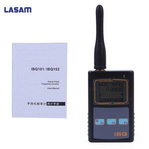 Image 2 - Contador de frecuencia portátil medidor de escáner IBQ102 10Hz 2,6 GHz para Baofeng Yaesu Kenwood radio escáner medidor de frecuencia portátil