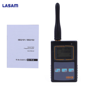Image 2 - Portable Frequency Counter Scanner Meter IBQ102 10Hz 2.6GHz for Baofeng Yaesu Kenwood radio scanner Portable Frequency Meter