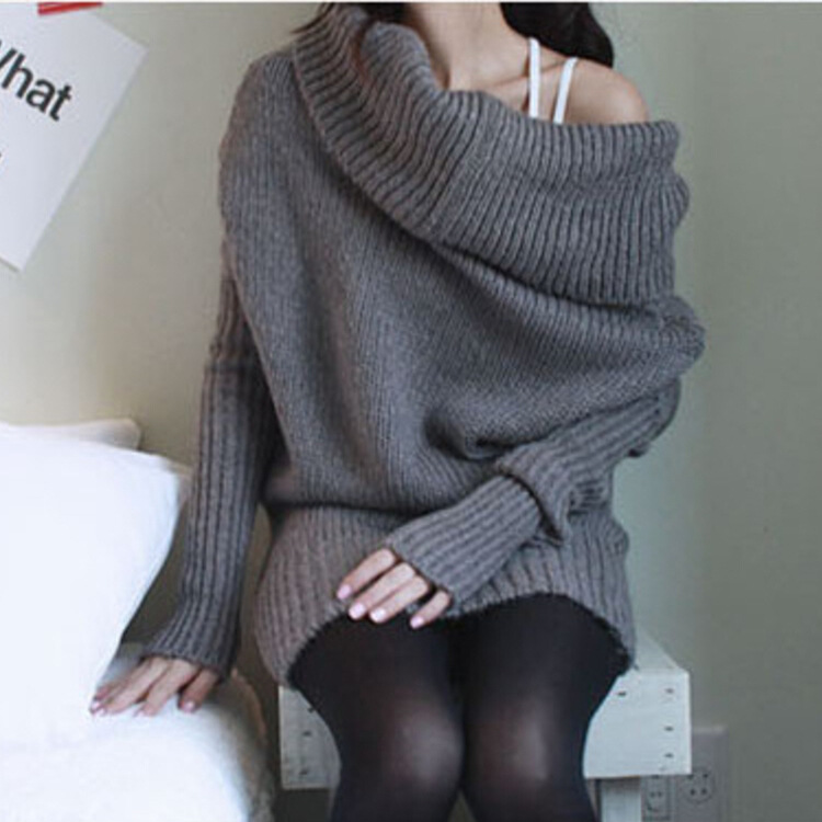 Explosion models fall and winter long -sleeved coat female sweater women christmas sweater women winter jacket Fashion sexy