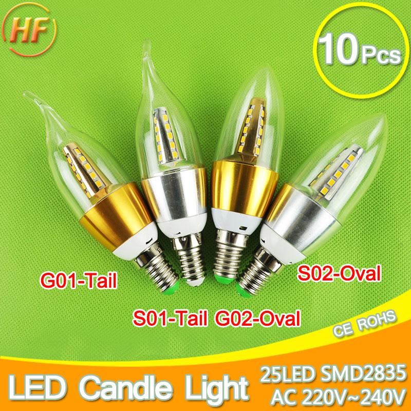 10pcs E14 LED Candle Bulb Golden Aluminum 9w 12w LED Light 220V Led Lamp Cool Warm White Lampada Bombillas Lumiere SMD 2835 COB candle led bulb e14 9w 12w aluminum shell e14 led light lamp 220v golden silver cool warm white ampoule lampara led smd 2835
