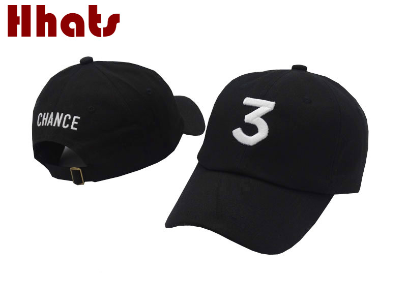 Che in doccia ricamo il rapper chance 3 cappello di estate fashion street cappello papà kpop berretto da baseball di snapback sole pesca bone