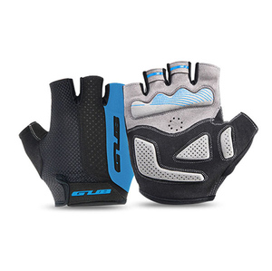 GUB 2099 bicycle half finger gloves with gel man woman summer short gloves unisex