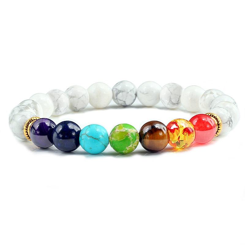 7 Chakra Natural Stone Bracelet 4