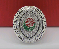 2014 2015 Oregon Ducks National College Football Rose Bow Championship Ring 8 14Size High Quality Solid