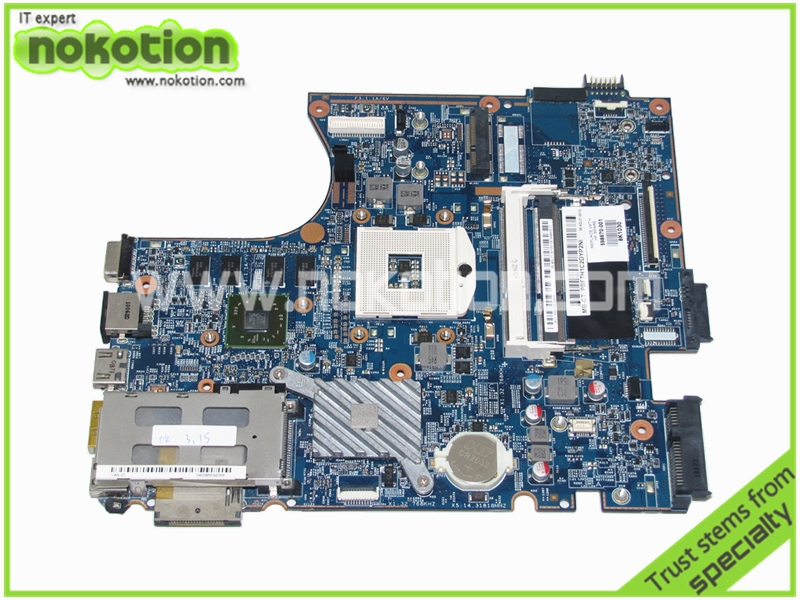 NOKOTION 598670-001 48.4GK06.011 laptop motherboard for HP 4720S Motherboard Mobility Radeon HD 5430 Mainboard Full Tested nokotion 653087 001 laptop motherboard for hp pavilion g6 1000 series core i3 370m hm55 mainboard full tested