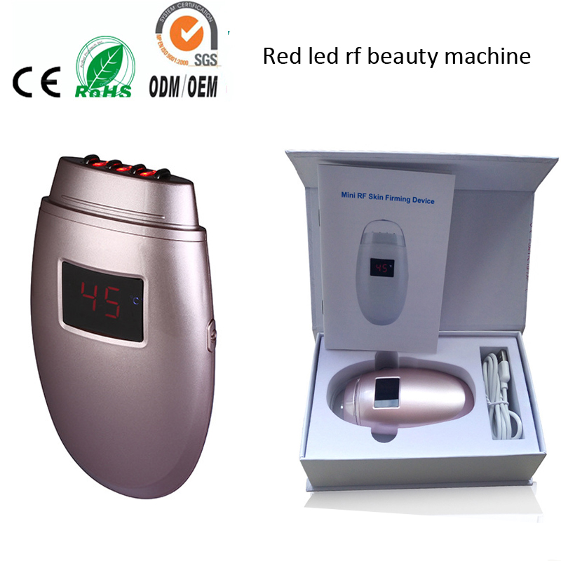 Mini Fractional RF Thermage Face Lift Skin Rejuvenation Tightening Firming Wrinkle Removal Beauty Salon Machine For Home Use inteligent temperature control lcd display mini fractional rf thermage skin lifting beauty wrinkle remove device free shipping