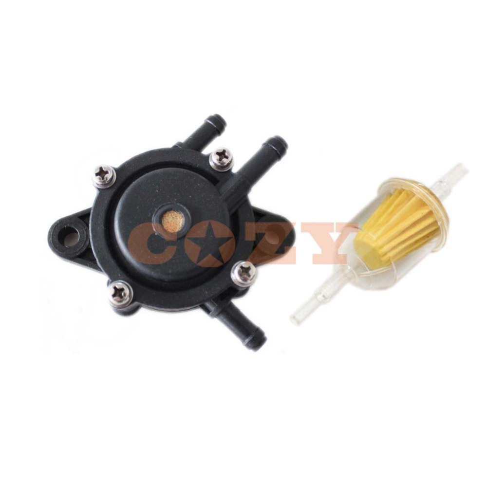 "1/4"" Fuel Filter Fuel Pump For Kohler John Deere Kawasaki Briggs 808656  2439316S 49040 7001 M138498 M145667-in Lawn Mower from Tools on  Aliexpress.com ..."
