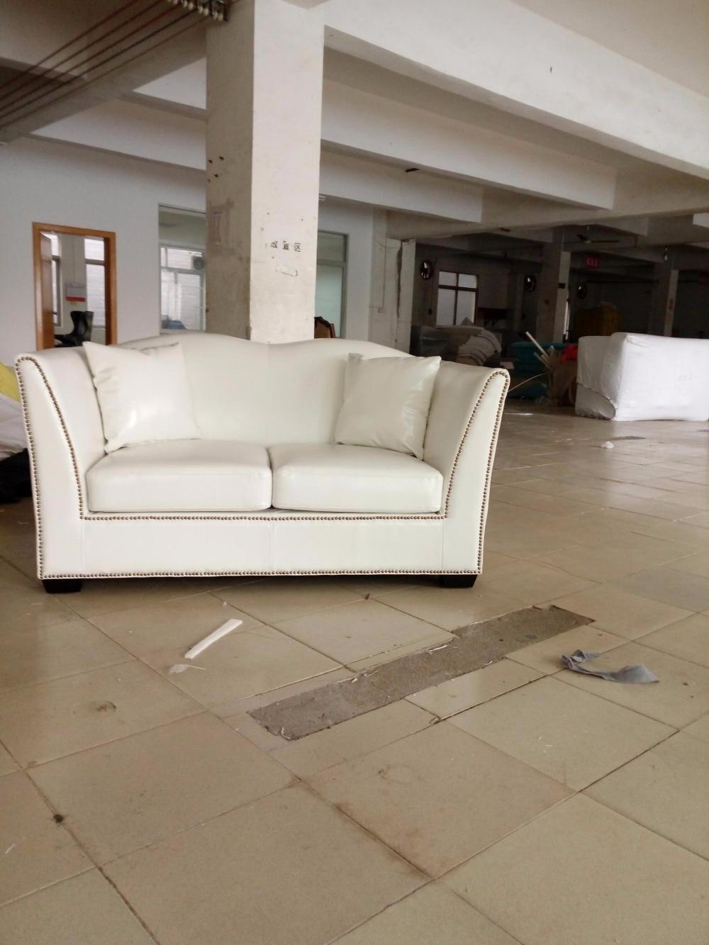 Kualitas tinggi nyata asli kulit sapi top graded sofa ruang tamu sofa furniture terbaru gaya rumah digunakan tiga kursi putih sofa di sofa ruang tamu dari