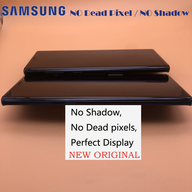 2960 1440 6 4 ORIGINAL Display For Samsung Galaxy Note 9 SM N9600 N9600F N960F LCD