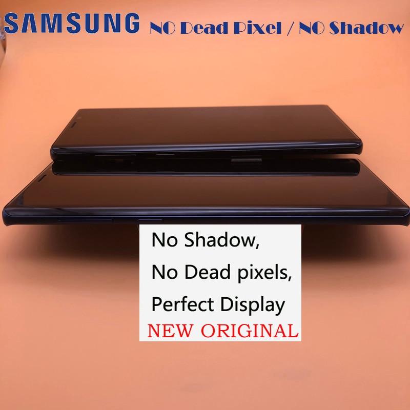 2960 1440 6 4 ORIGINAL Display For Samsung Galaxy Note 9 SM N9600 N9600F N960F LCD