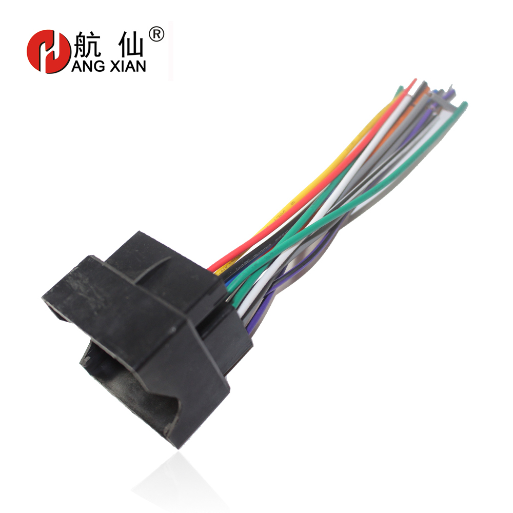 Car Stereo Iso Radio Plug For Ford Focus Fiesta Fusion Mondeo C Max Wiring Harness Colors Vw Female Power Adapter Special S