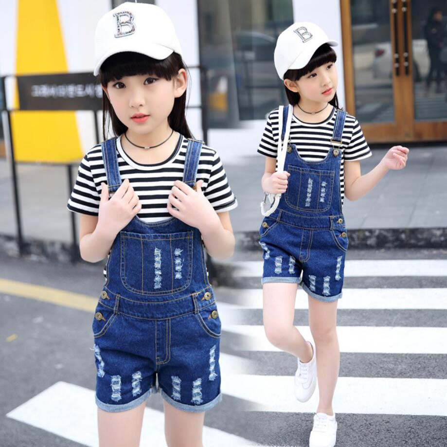 calcas solida meninas curtas jeans 03