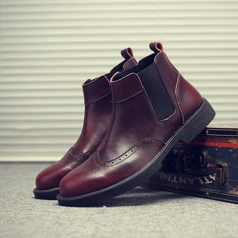 a5820 Bottes Martin En Qualité 13 Imperméables Chaussures a5820 Hommes Véritable Air Cheville De Haute Automne 45 Taille D'hiver 12 Cuir A5820 Travail Plein 11 gqBcvFqY4w