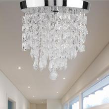 LED Pendant Light 85-265V E14 lamp Crystal Pendant Lamp for Restaurant Bedroom Living Room lamps pendant light luxury fashion brief crystal lamp bedroom lamp restaurant lamp x07