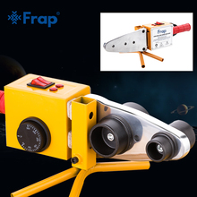 купить Frap Plumber Tools Iron Box Temperature Controled Plastic Pipes Tube Welding Machine, PPR Pipe Welder AC 110/220V 20-63mm To Use по цене 3045.53 рублей