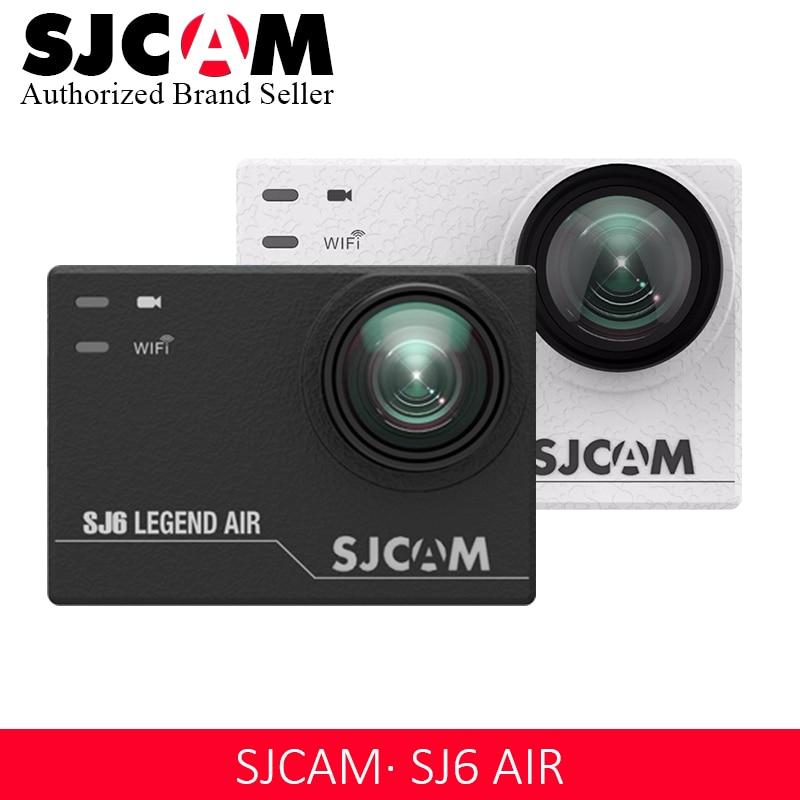 SJCAM SJ6 LEGEND Air 4K 24fps Ultra HD Remote Action Camera Notavek 96660 Waterproof Sports DV 2.0 Touch Screen Video Camera