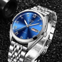 2019 LIGE New Watches Men Top Brand Fashion Automatic Date Male Stainless Steel Waterproof Business WristWatch Montre Homme