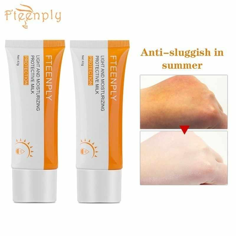 2PCS FTEENPLY ครีมกันแดด Sun Screen Whitening Anti-Aging Oil-control Moisturizing Protector Solar Sun ครีม