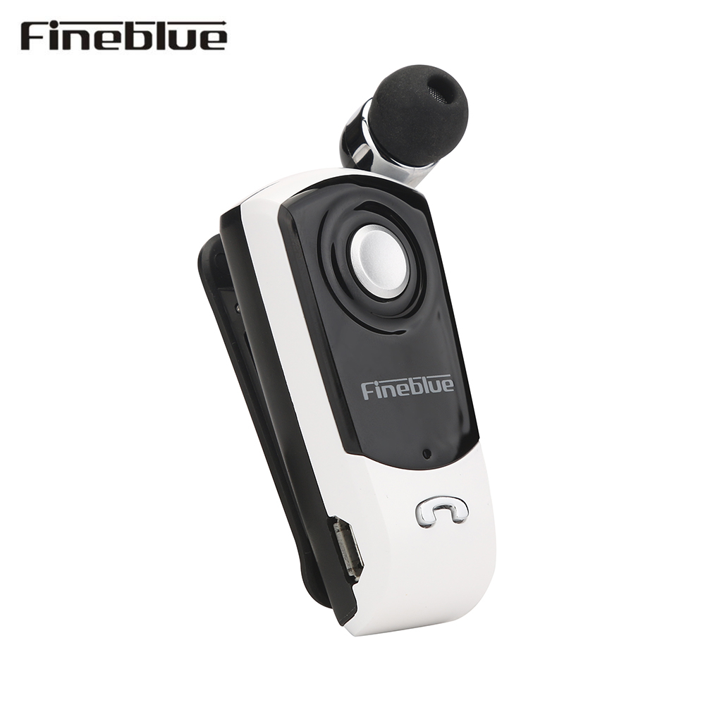 FineBlue F960 Stereo Wireless Bluetooth Earphone Headset Calls Remind Vibration Wear Clip for ios Android Mobile Phones wireless bluetooth earphone fineblue f sx2 calls remind vibration headset with car charger for iphone samsung handfree call