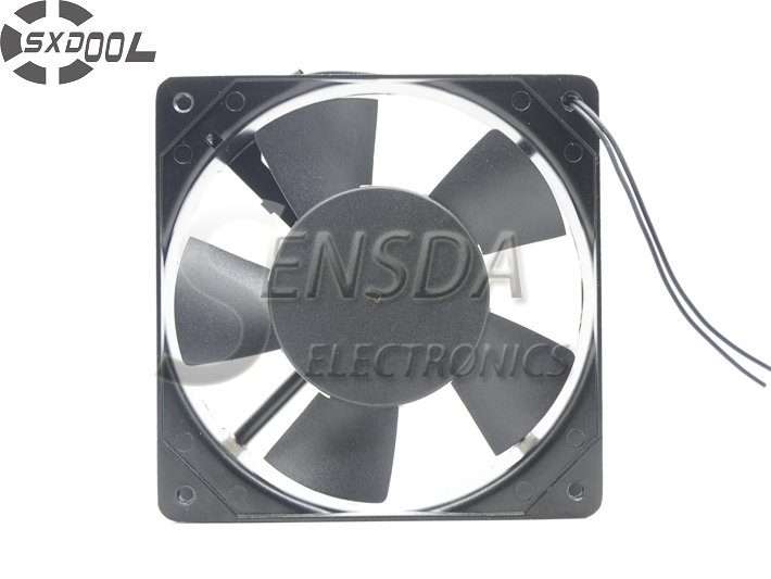 все цены на  cooling fan 220V SXDOOL 1225 12025 AC 220V 12cm 120mm  120*120*25mm Dual ball bearing cooling fan  онлайн