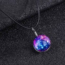 New Fantasy Star Necklace Romantic Starry Sky Pendant Necklace Women Fashion Necklaces Great Jewelry Gifts