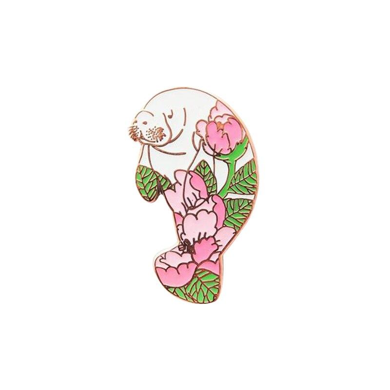 Sea lion pin