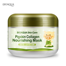 BIOAQUA Carbonated Bubble Clay Mask Mask for the Face Moisturizing Whitening Anti-Aging Acne Treatment Hyaluronic Acid Face Mask 1kg hyaluronic acid moisturizing mask 1000g whitening lock water repair disposable sleeping cosmetics beauty salon products oem