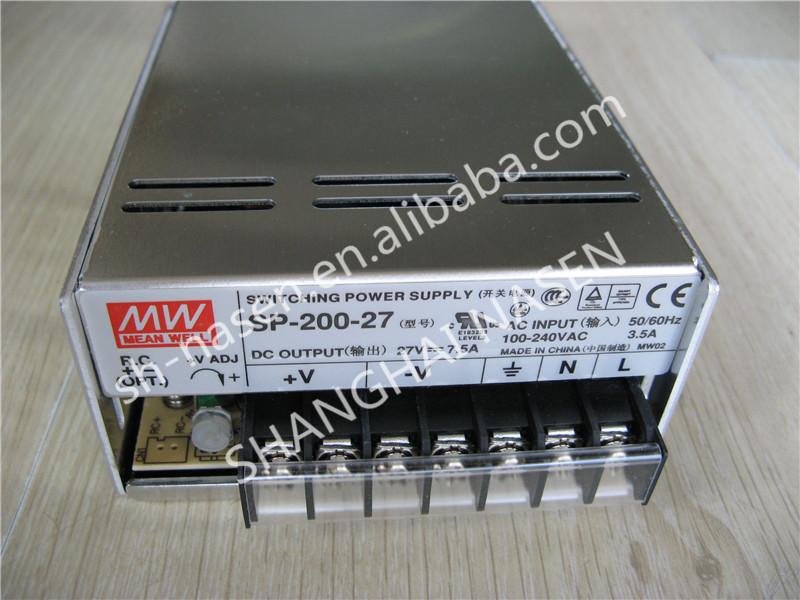 цена на Power supply MEAN WELL SP-200-27