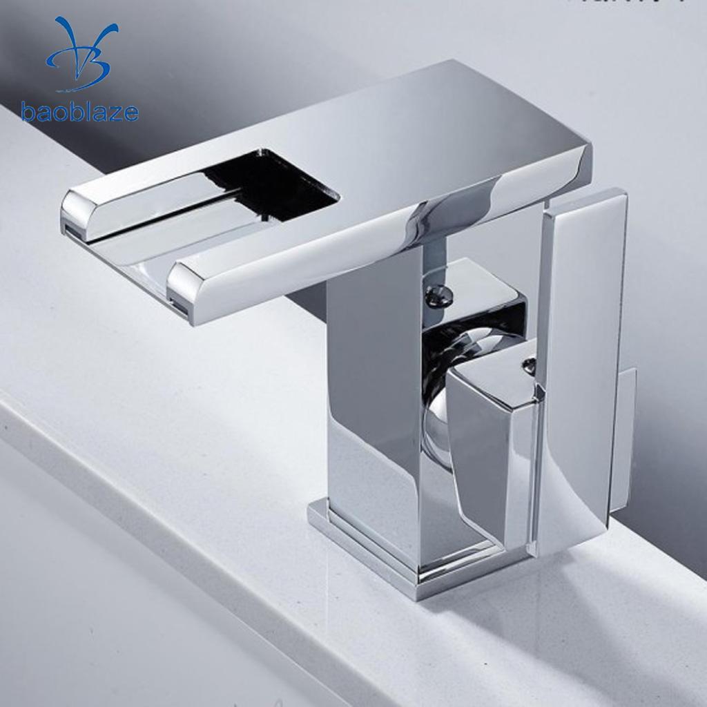 Bec pivotant cuisine évier robinet levier Chrome robinet d'eau 3 couleur changement de LED, salle de bains lavabo robinet, rouge/vert/bleu