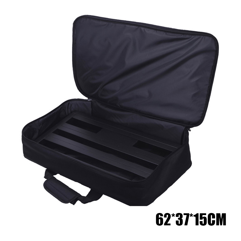 62x37x15cm Effect Pedal Board Bag for Guitar Effect Pedal