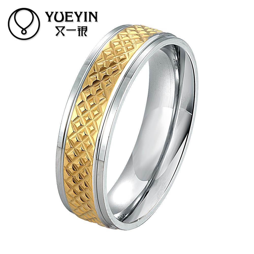 4eafa27d196f48 Klasyczne Mężczyźni Kobiety LOTR Złota GP Mężczyźni Wedding Band Pierścień  Wisiorek Szerokość 6mm Wiele Rozmiar Prezent Darmowa Wysyłka