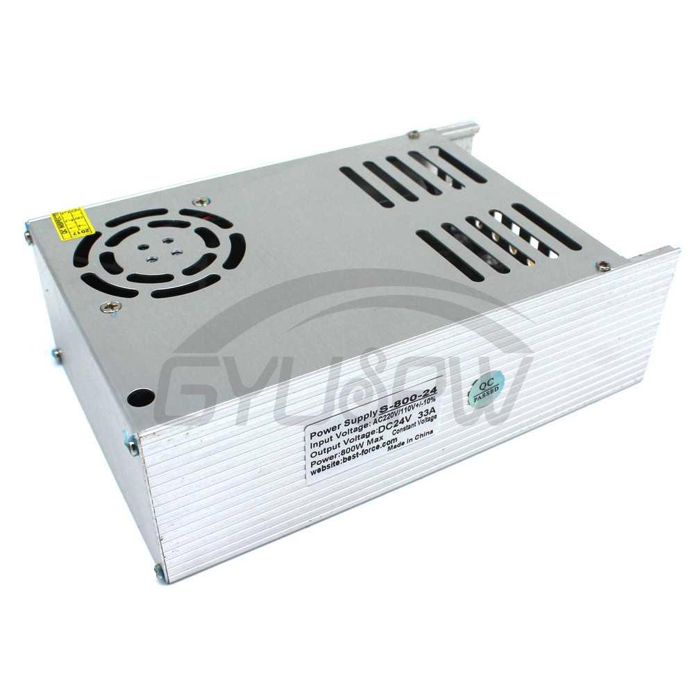 New Model ac dc Power Supply 24V 33A 800W PSU AC DC Converter 220v ...