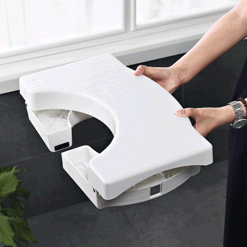 Multi-Function Folding Toilet Stool Bathroom Potty Toilet Squat Proper Posture P7Ding