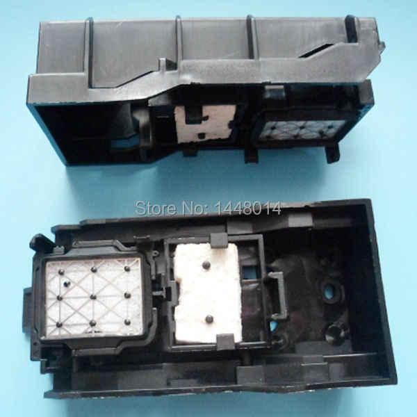 2 Pcs untuk Epson DX5 DX7 Tinta Tutup Station Assembly Mimaki JV5 JV33 TS3 CJV30 DX5 Printhead Pembersih Capping Station ASSY Pencetak