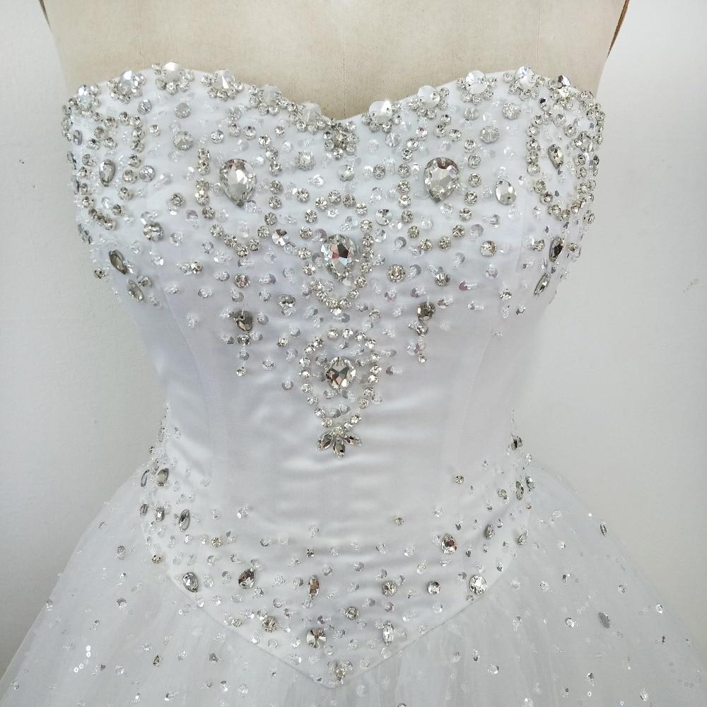 Vestidos De Novia 2019 Rhinestone Wedding Dresses Ball