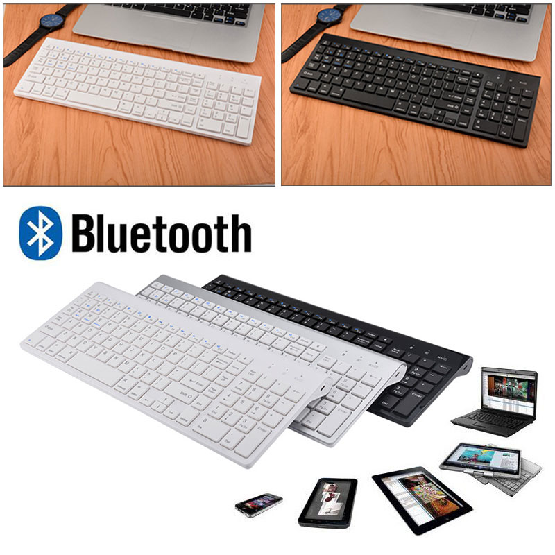 New Hot 2.4GHz 102 Keys Wireless/Wired Bluetooth Keyboard for Tablet PC Notebook Computer