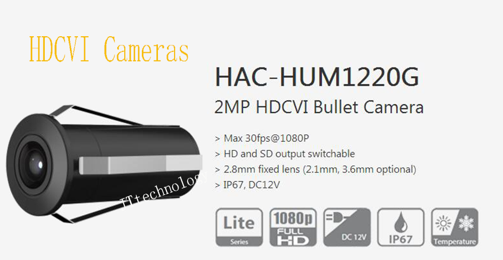 Free Shipping DAHUA Original English 1080P Security Camera CCTV 2MP HDCVI Bullet Camera without Logo HAC-HUM1220G free shipping dahua villa outdoor station original english version without logo vto5000c