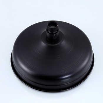 "Bathroom 8\"" Rainfall Shower Faucet Set Black Bronze Dual Handle Bath Shower Mixer Taps Wall Mounted with Handshower"