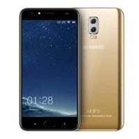 M-HORSE energía 2 6000 mAh 5.5 ''HD Android 7.0 4G teléfono celular 8MP + 2MP Quad Core 2 GB + 16 GB doble cámara trasera smartphone huella digital BT5.0