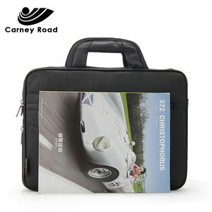 Image 3 - 防水ビジネス男性 14 インチのラップトップブリーフケースバッグ高品質カジュアルハンドバッグ男性の事務所バッグコンピュータショルダーバッグ