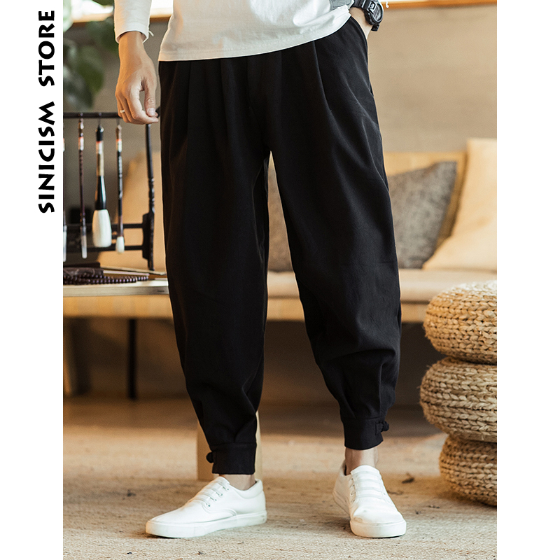 Supply Sinicism Store Men Patchwork Cargo Pants 2018 Mens Dragon Streetwear Harem Pants Male Black Track Pants 5xl Sweatpants Overalls Pants