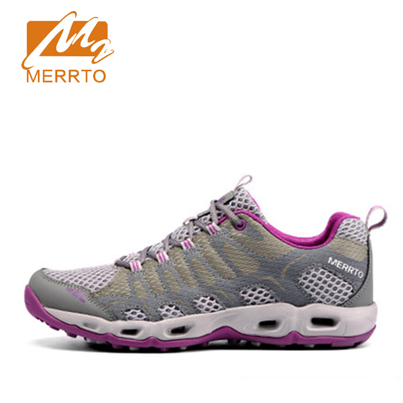 ФОТО 2017 Merrto Women Trail Running Shoes Lightweight Runner Sports Shoes Mesh For Women Free Shipping MT18598