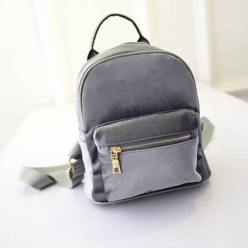 c62ae9501027 Gold Velvet Mini Women Backpack Korean Leisure Wild Vintage Small Mini  Shoulders Bag for Women Casual Girls Mini Backpacks on Aliexpress.com