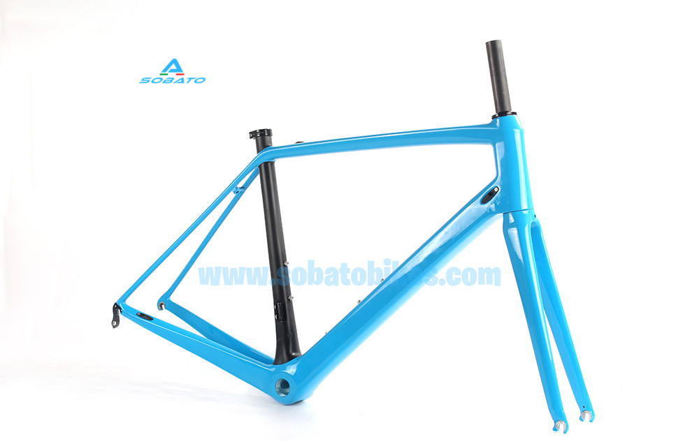 2016 carbon road frame Di2&mechanical Full Carbon fiber Racing Frames New Design Carbon Road bike Frameset for 28 tires