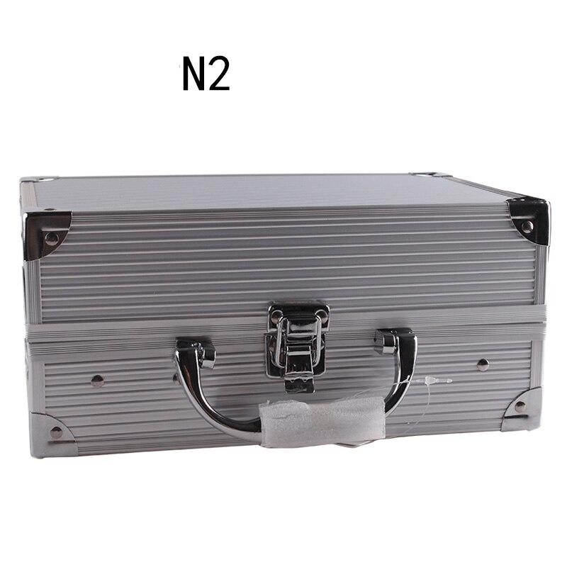 Makup Tool Kit scatola di Alluminio Tra Cui Luccichio Matte Eyeshadow Rossetto Correttore Blush, fard Spazzola di Trucco del Corredo Cosmetico Maquiagem - 5